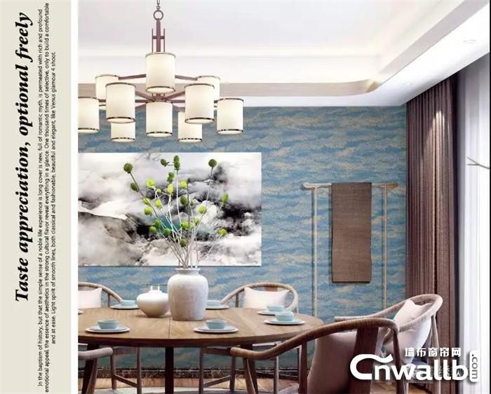 蝶绣软装让墙布赋予生活更多仪式感!