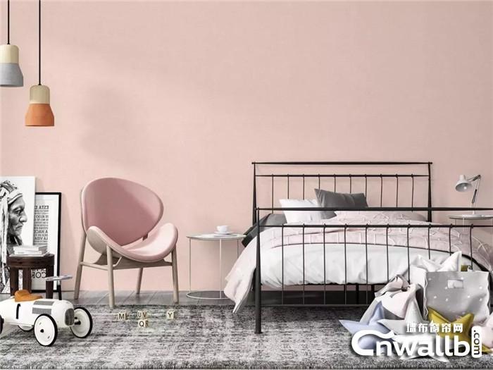 选择元龙素色类墙布,就是紧跟时代潮流!