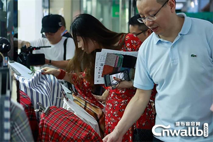 雅诗澜墙布与东华大学校友探讨纺织业的未来前景!