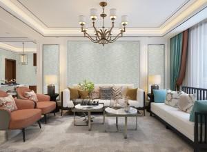 圣玛兰琪墙布现代简约风装修图,沙发背景墙效果图