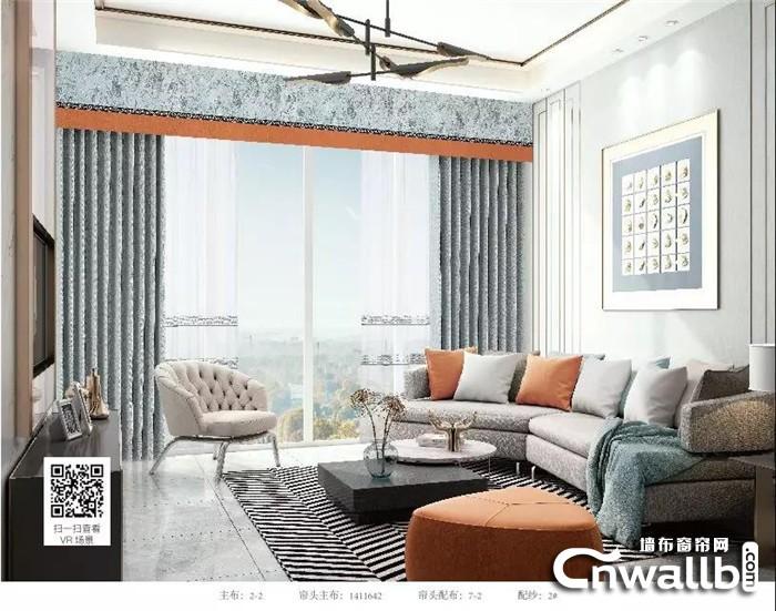 沁绣2019年新品窗帘,屋里一道美丽的风景线!