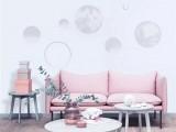 红宝石墙布缔造灵动空间,让美丽和健康与你常伴!