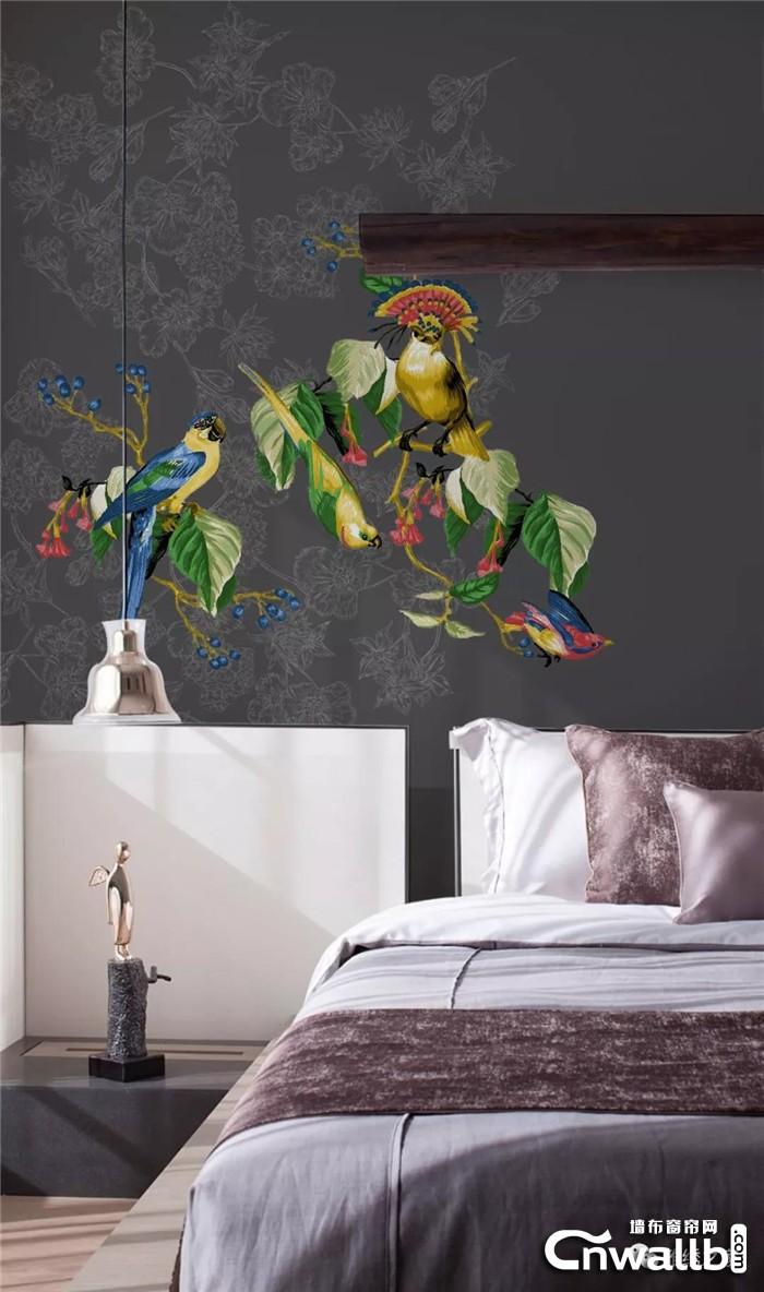 雅绣之家墙布有最美的风景,有永远的爱!