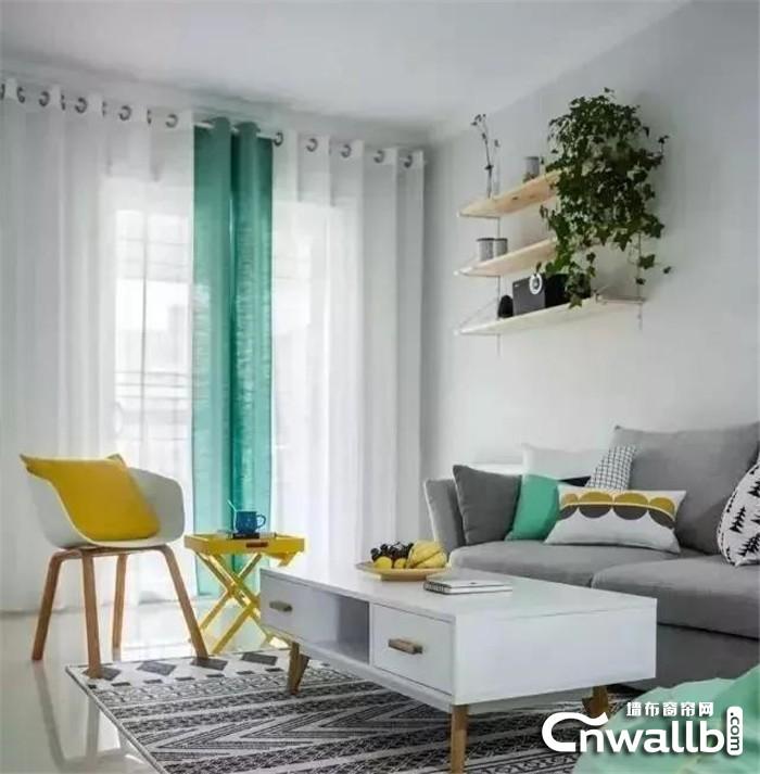 元龙墙布传授窗帘选择时的几大要素,提升家装的整体效果!