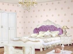 我爱我家墙布简约风格卧室