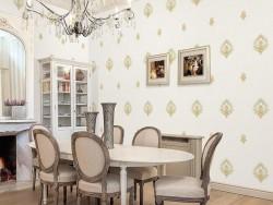 我爱我家墙布欧式风格餐厅