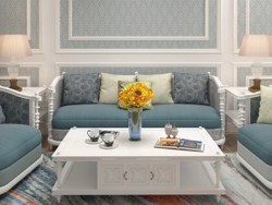 红杉树墙布纯色客厅背景墙