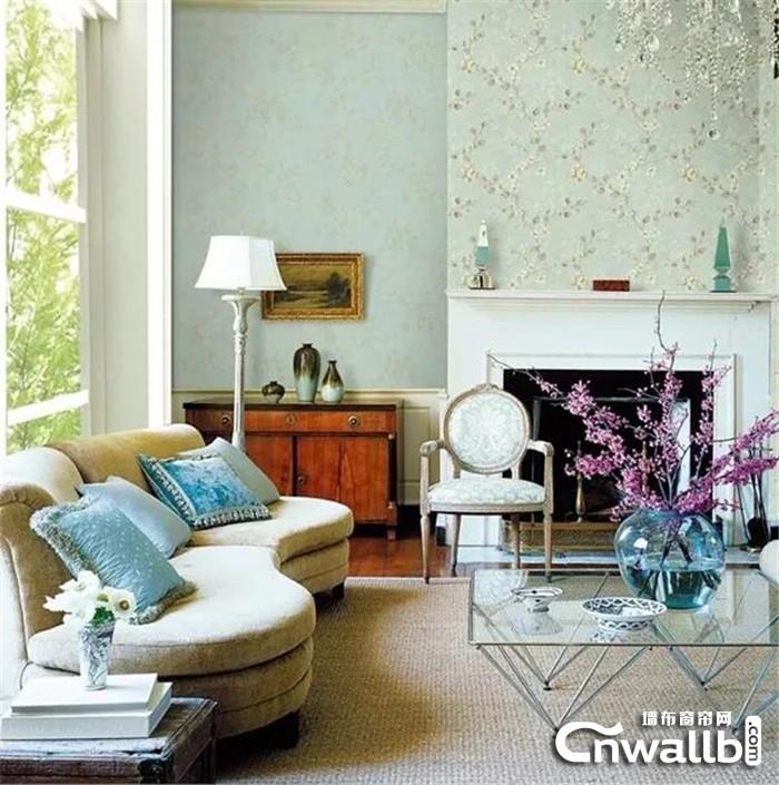不同的墙布风格展现不同的个性!
