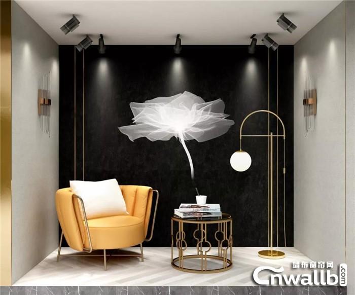 科布斯新品墙布花好人间,一种赏心悦目的美!