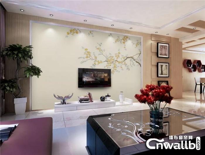 钜惠来袭,红宝石墙布将秋的景色装进家里!