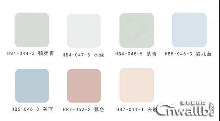 什么样的颜色搭配才好看?朵薇拉无缝墙布分享色彩搭配方案!