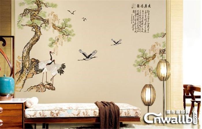 锦尚帛美墙布将秋的景色装进家里!