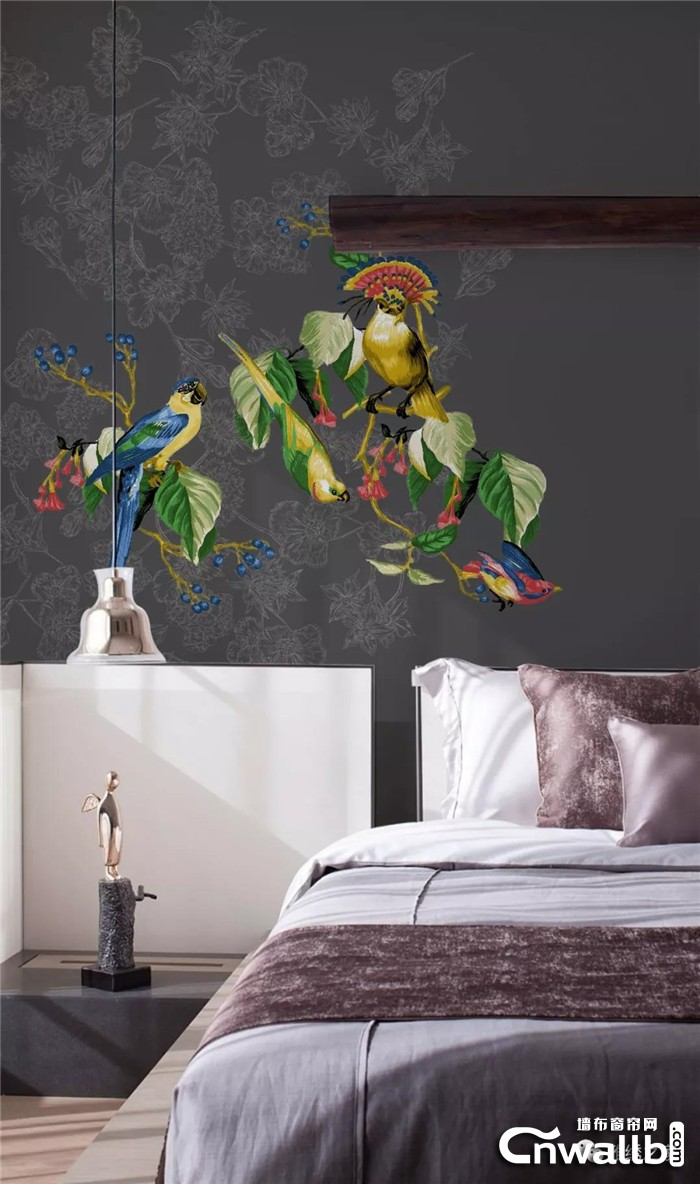 用雅绣之家墙布给父母装修的房子,将爱更延续!