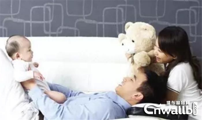 宏绣负氧离子墙布守护孩子呵护全家!