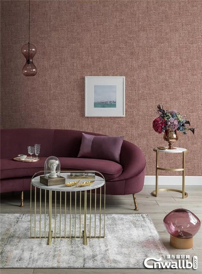 锦尚帛美墙布丰富的类型,给予你不同的浪漫与感动!