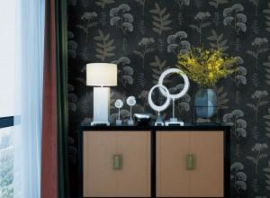 安妮家无缝壁布美式轻奢风装修效果图