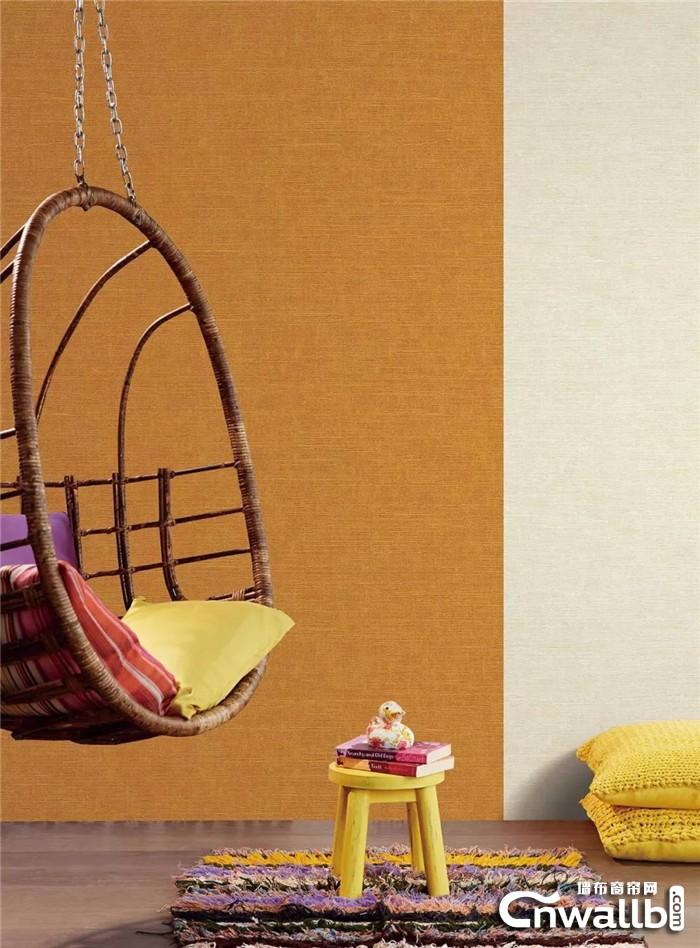 锦尚帛美墙布赋予空间温暖的格调,让家更有温度!
