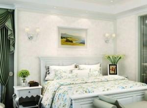 VISA高端墙布《汉密尔顿》简欧风格墙布效果图