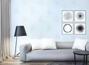 特普丽墙纸简爱系列美式风格墙纸装修效果图