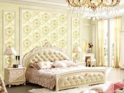圣泰隆墙布美式提花无缝墙布