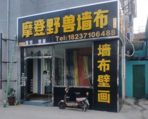 摩登野兽墙布河南郑州专卖店