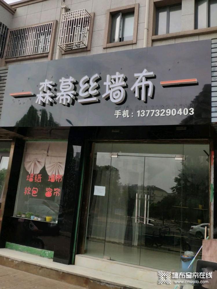 森幕丝墙布江苏张家港专卖店