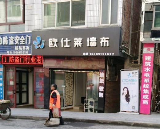 欧仕莱墙布陕西紫阳县专卖店