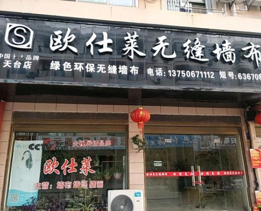 欧仕莱墙布浙江天台县专卖店