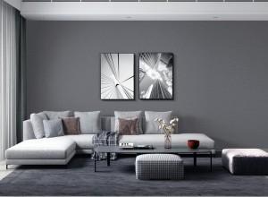 VISA墙布客厅沙发背景墙装修效果图