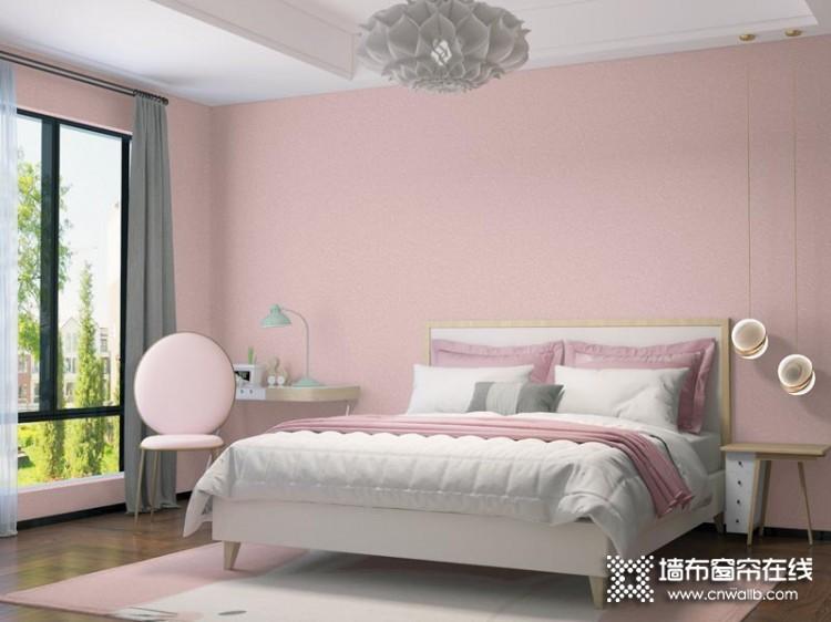 VISA高端墙纸墙布卧室背景墙效果图