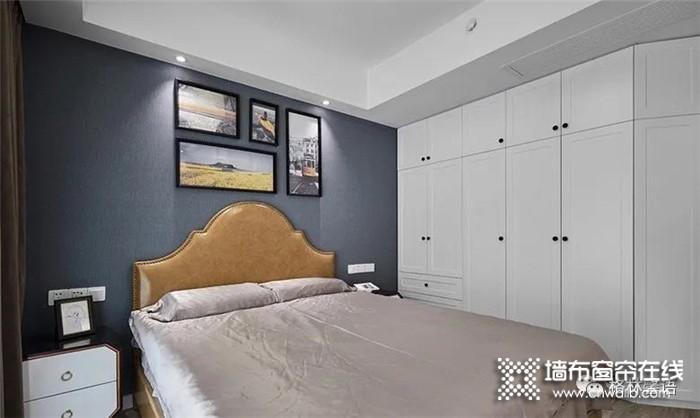 格林馨语墙布案例分享--感受墙布与木饰的完美结合~