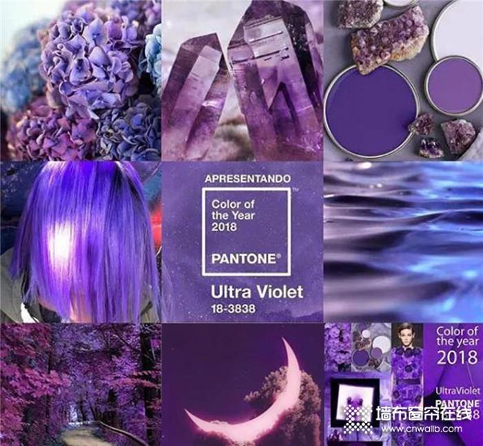 雅诗澜墙布,将高贵而神秘的紫色融入其中,诠释出最为瑰丽的熟女气质~