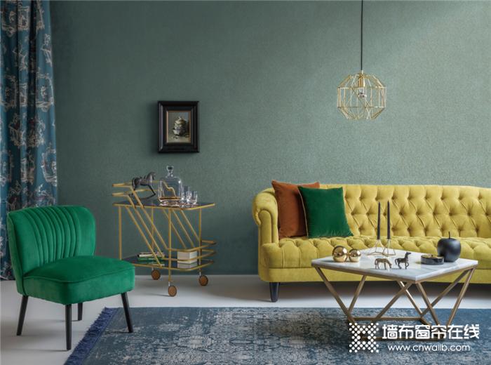 科布斯美学墙布,为你用墙布搭配精美家居空间