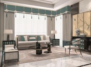 大自然墙布软装客厅背景墙装修效果图