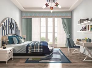 大自然墙布软装卧室背景墙装修效果图