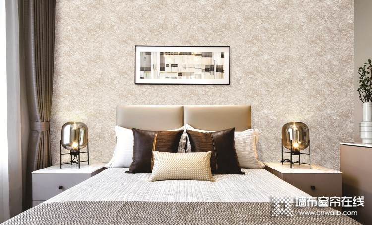 壁多美墙布背景墙装修效果图