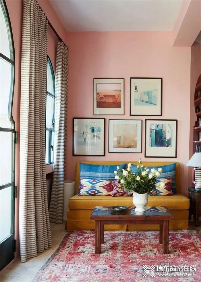 【ANFIELD】安菲尔德色粉色系墙布,玩转家居粉色调,从季节性流行到永恒经典