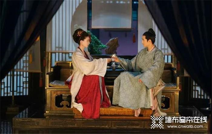 宏绣墙布产品推荐:最美不过中国风,从《清平乐》感受宋的东方家居美学