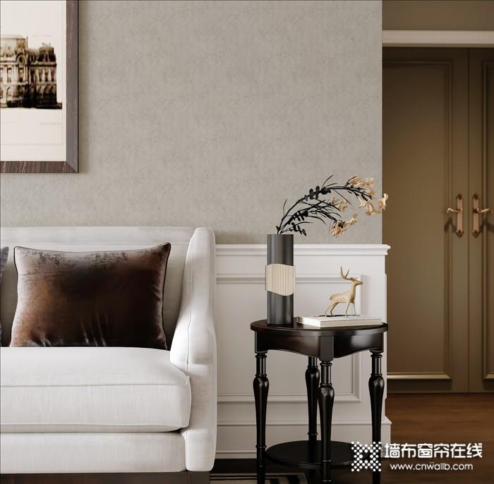 逸绣墙布提花系列产品效果图,逸绣提花墙布装修图