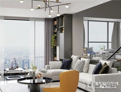 来看看雅绣装饰的轻奢现代风三室一厅,高冷的灰色系风格,看了就爱上了
