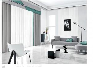 欧可丽窗帘客厅装修效果图集