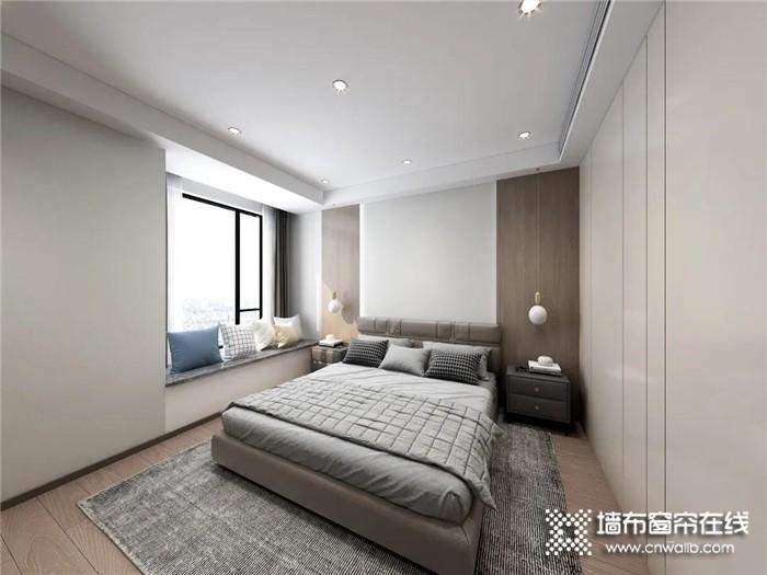 沁绣的现代轻奢三居室装修案例,轻奢于形,优雅于里