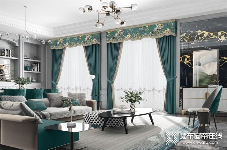 柏克利窗帘装修图片,客厅窗帘效果图