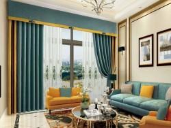 伊莎莱窗帘-B1803-188G-现代风格