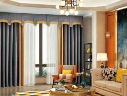 伊莎莱窗帘-B1803-190G-现代风格