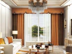 伊莎莱窗帘-S1803-25G-现代风格