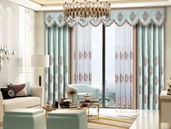 伊莎莱窗帘-B1703-174G-现代风格