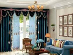 伊莎莱窗帘-A1803-34G-美式风格