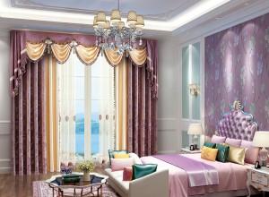 伊莎莱窗帘卧室装修图片,欧式窗帘效果图