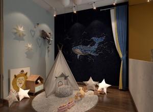 可罗雅墙布儿童房装修效果图